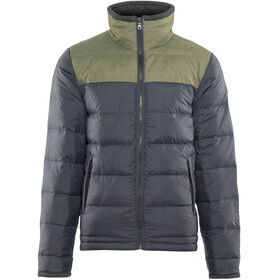 Bergans Oslo Down Light Jacket Men Dark Navy Mel/Seaweed Mel